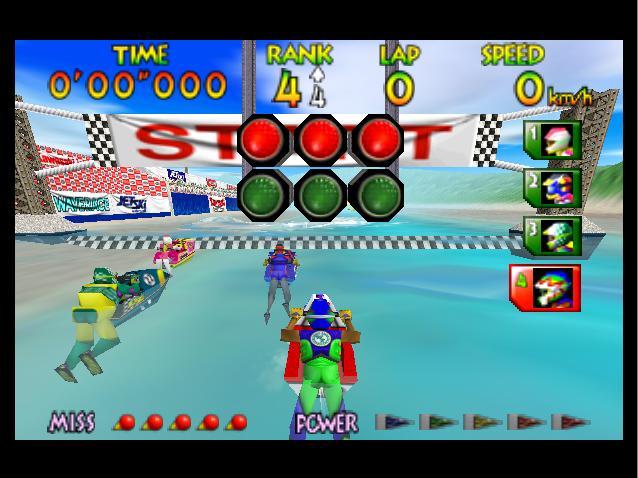 Wave Race 64 - Starting Line