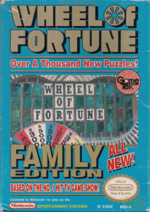 Wheel of Fortune Family Edition Box
