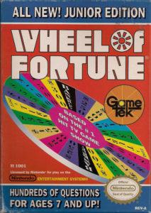 Wheel of Fortune Junior Edition Box