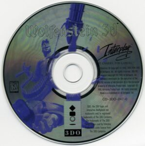 Wolfenstein 3D 3DO Disc