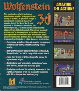 Wolfenstein 3D DOS Box Back