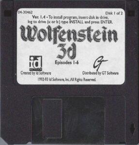 Wolfenstein 3D DOS Disk