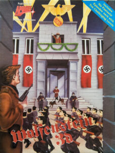 Wolfenstein 3D DOS European Box