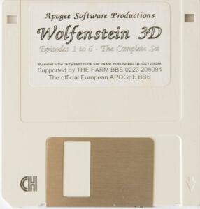Wolfenstein 3D DOS European Disk