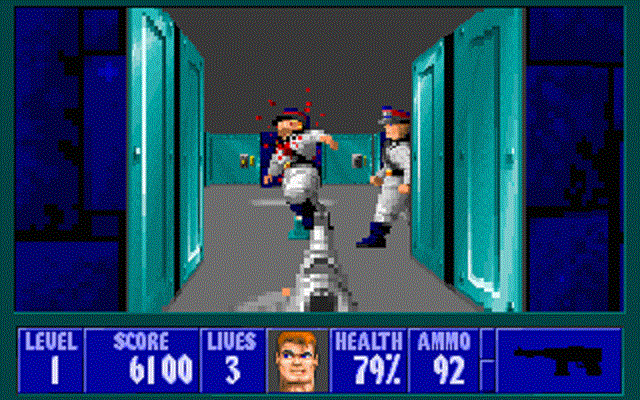 Wolfenstein 3D - Enemy Killed