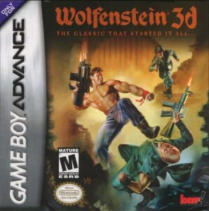 Wolfenstein 3D Game Boy Advance Box