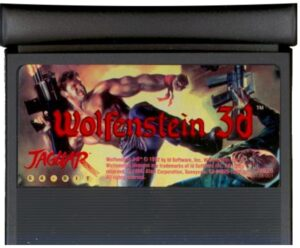 Wolfenstein 3D Jaguar Cartridge