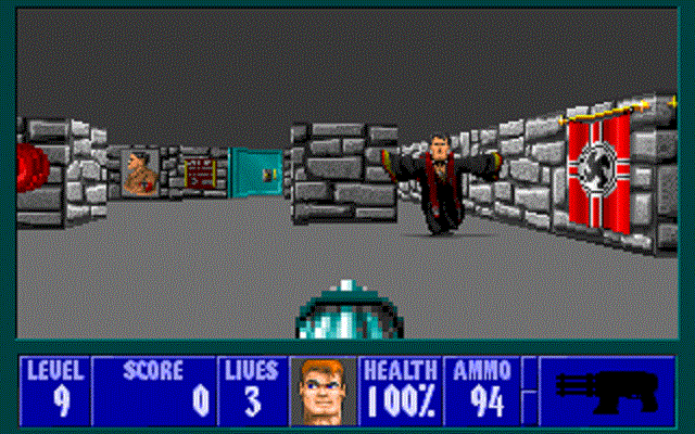 Wolfenstein 3D - Level 9