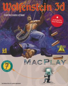 Wolfenstein 3D Macintosh Box