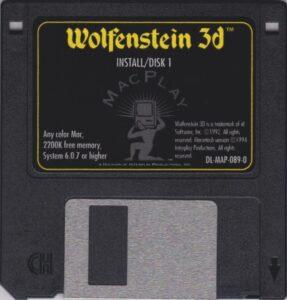 Wolfenstein 3D Macintosh Disk
