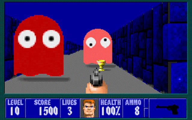 Wolfenstein 3D - Pac-Man