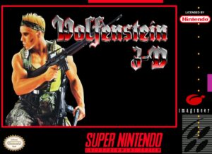 Wolfenstein 3D SNES Box
