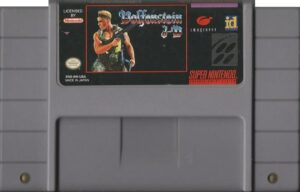 Wolfenstein 3D SNES Cartridge
