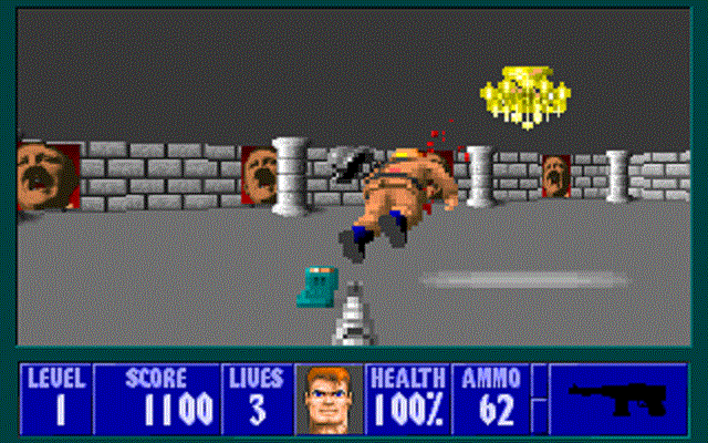 Wolfenstein 3D - Shot Enemy