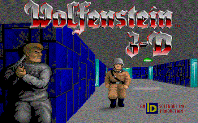 Wolfenstein 3D - Title Screen