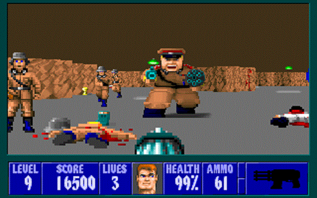 Wolfenstein 3D - Under Attack