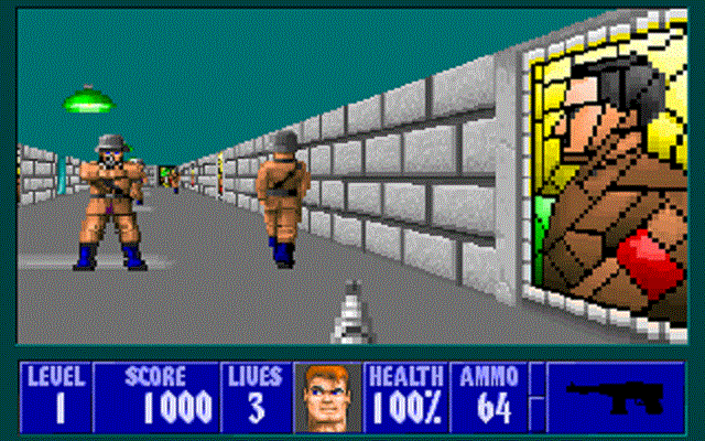 Wolfenstein 3D - Under Fire