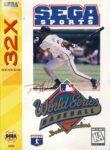 World Series Baseball Starring Deion Sanders Sega 32X Box