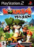 Worms 4 - Mayhem PS2 Box