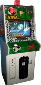 X The Ball Arcade Cabinet