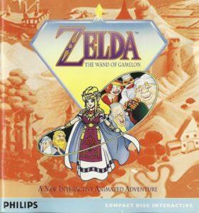 Zelda The Wand of Gamelon European Box