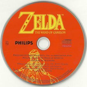 Zelda The Wand of Gamelon European Disc