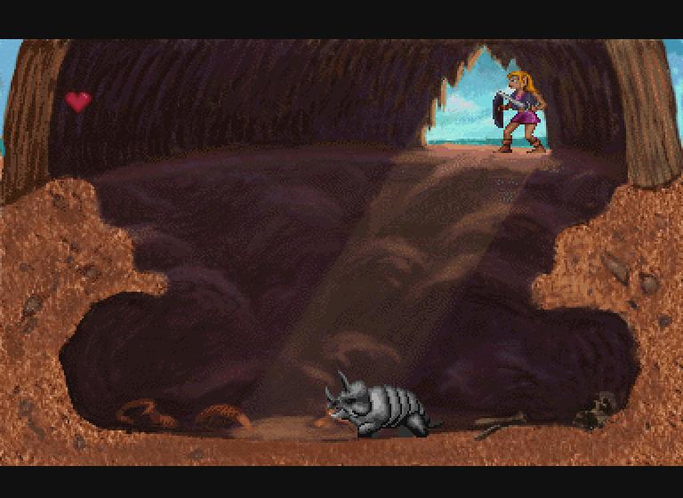 Zelda The Wand of Gamelon Inside Hut