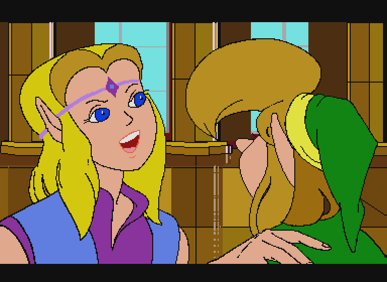 Zelda The Wand of Gamelon Opening Scene 3