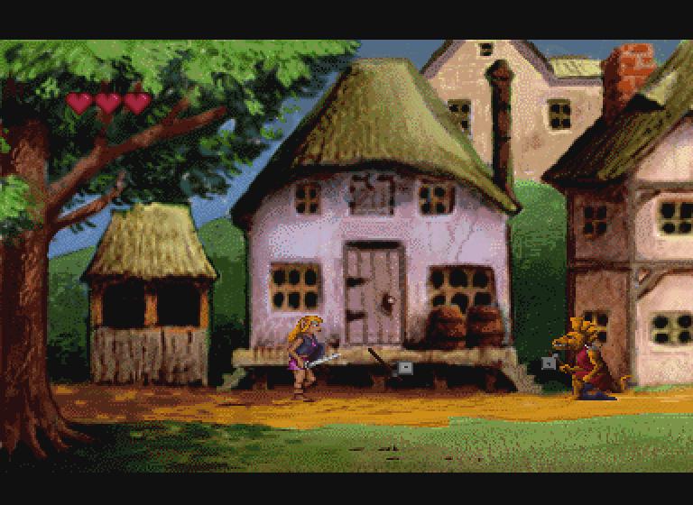 Zelda The Wand of Gamelon Sakado