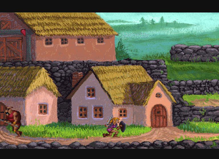 Zelda The Wand of Gamelon Village in Kobitan