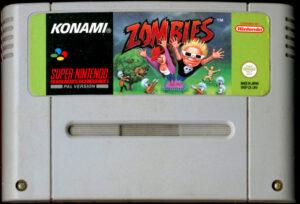 Zombies Ate My Neighbors Europe SNES Cartridge