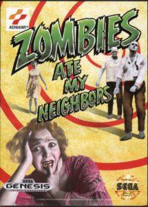 Zombies Ate My Neighbors Genesis Box