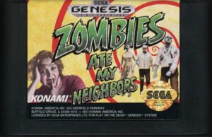 Zombies Ate My Neighbors Genesis Cartridge