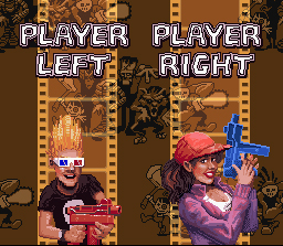 Zombies Ate My Neighbors - Player Select