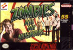 Zombies Ate My Neighbors SNES Box