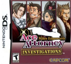 Ace Attorney Investigations Miles Edgeworth Box