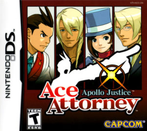 Apollo Justice Ace Attorney Box