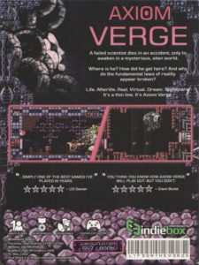 Axiom Verge PC Box Back