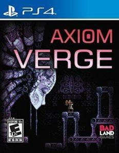 Axiom Verge PS4 Box