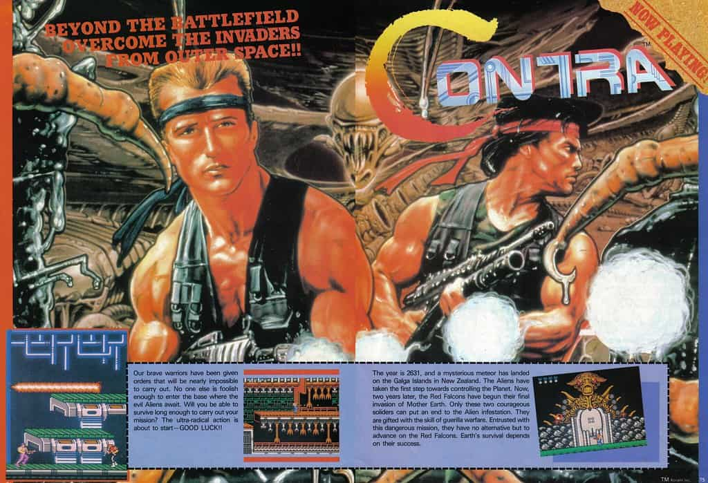 Contra Nintendo Power