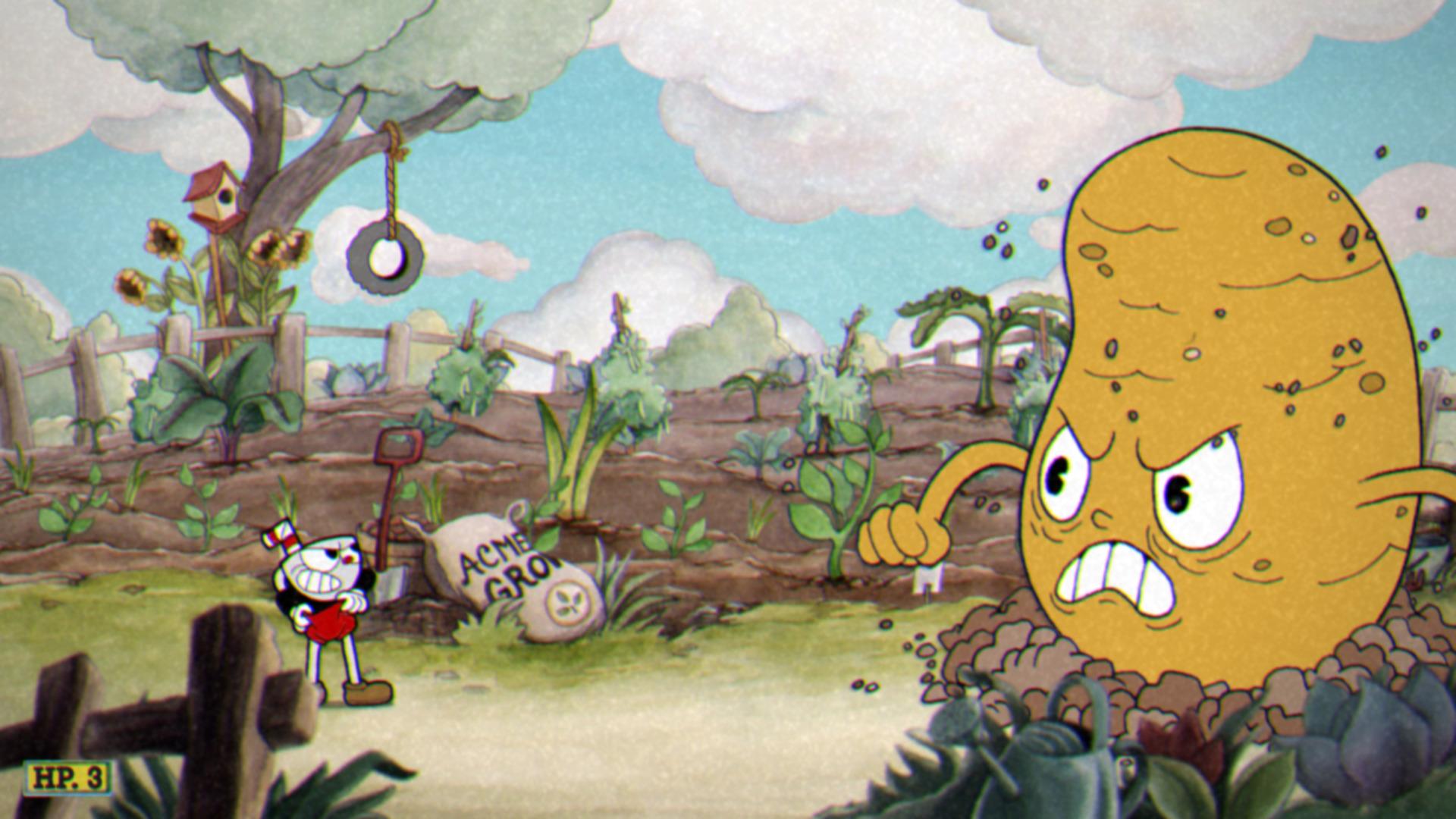 Cuphead Mr. Potato