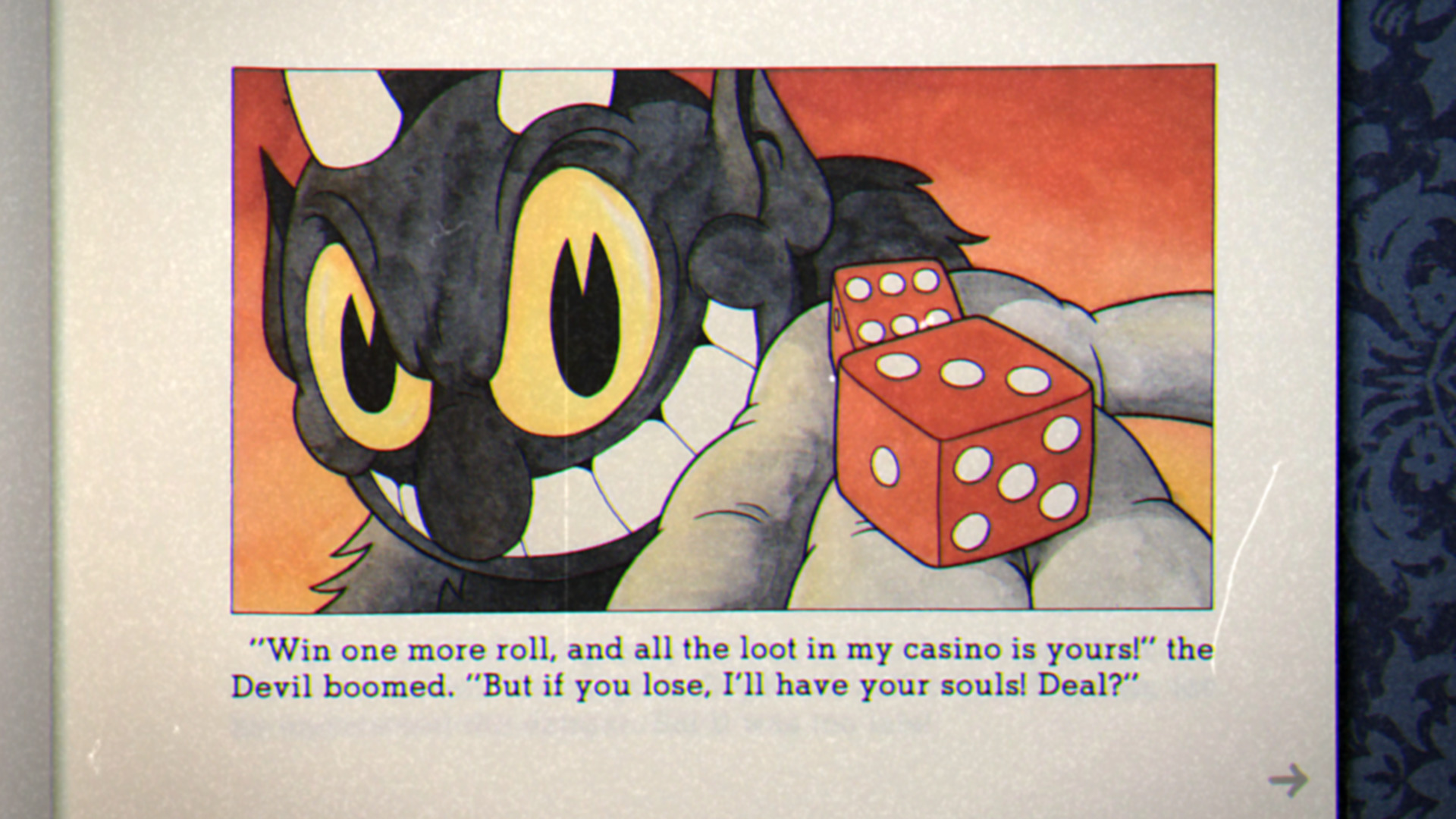 Cuphead Never Make Deals with the Devil