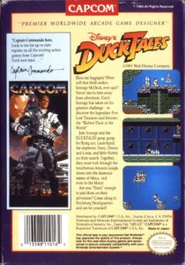 DuckTales Box Back