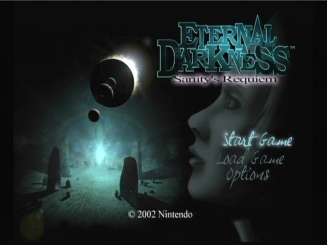 Eternal Darkness Title Screen