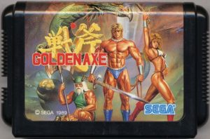 Golden Axe Japanese Mega Drive Cartridge