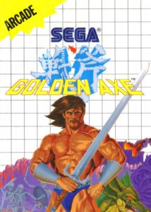 Golden Axe Master System Box