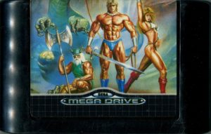 Golden Axe Mega Drive Cartridge
