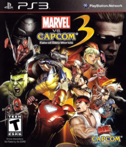 Marvel Vs Capcom 3 Fate of Two Worlds Box