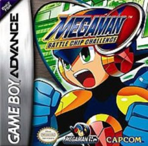 Mega Man Battle Chip Challenge Box
