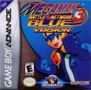 Mega Man Battle Network 3 White and Blue Versions Box
